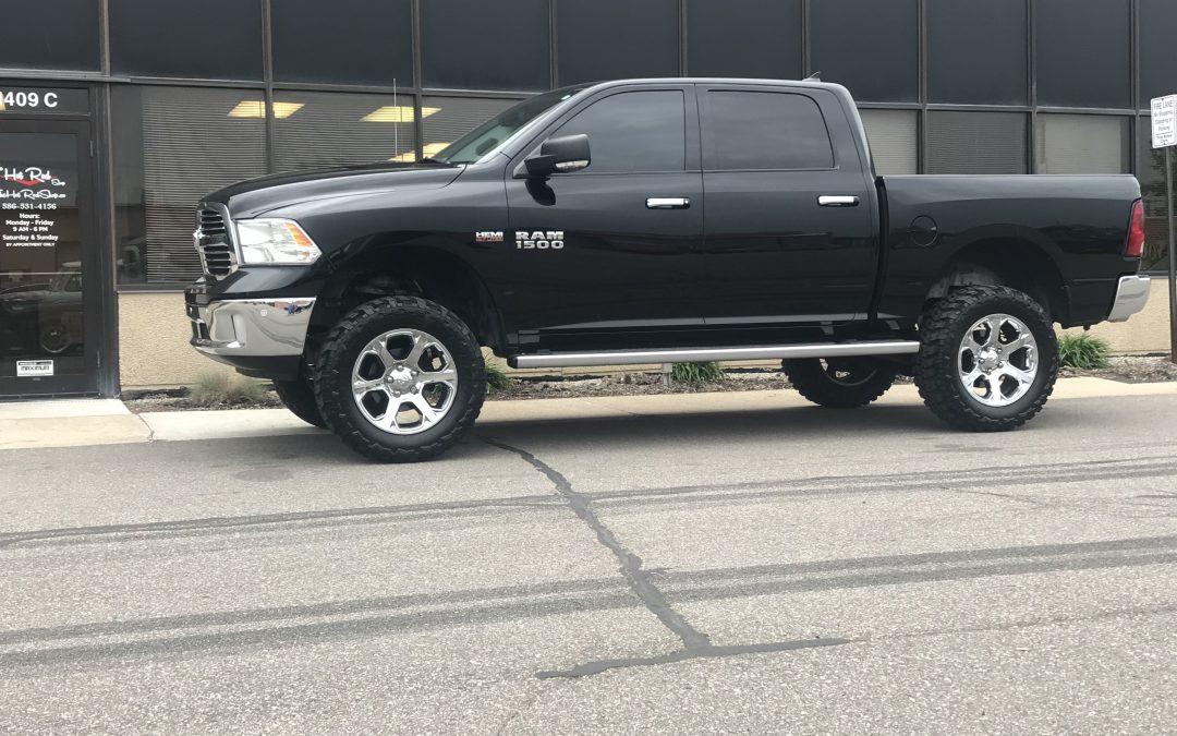 Black Ram lift