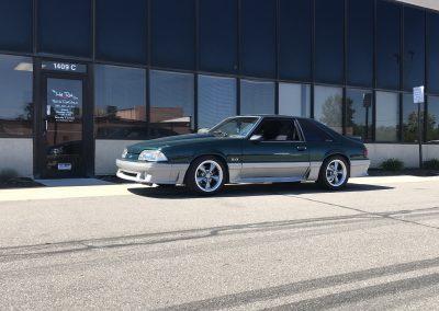 Green Foxbody Mustang