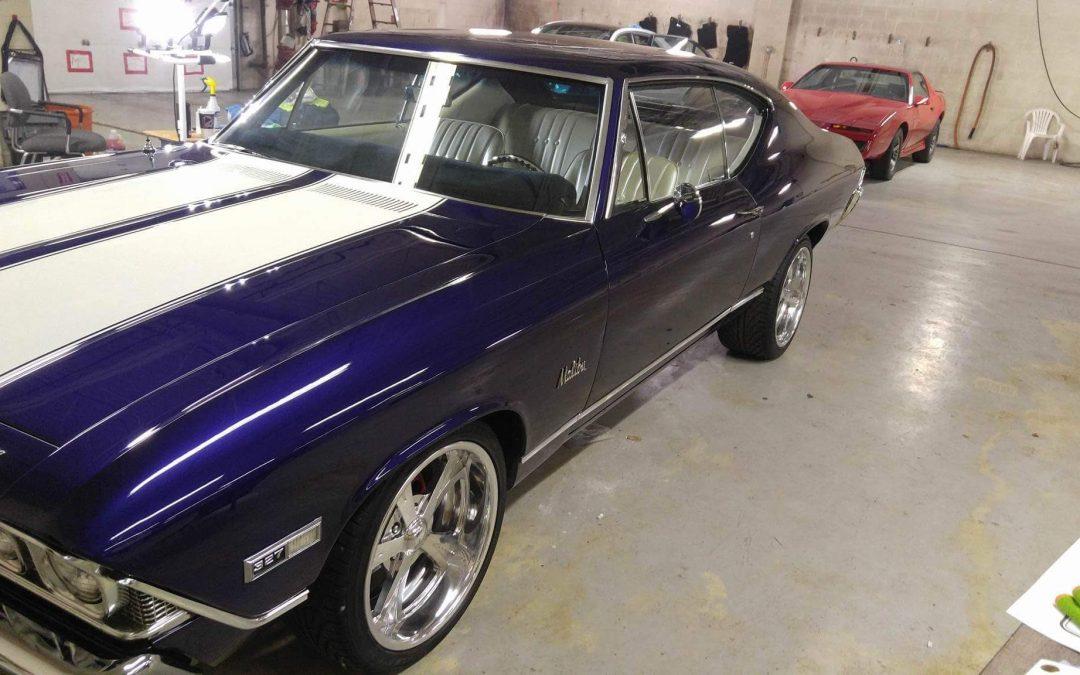 Blue 1968 Chevelle