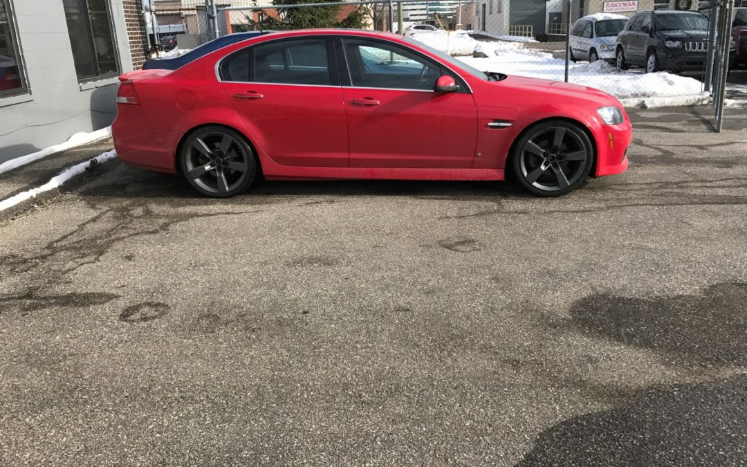 Red G8 Lowered
