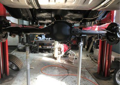 1969 Camaro prep for new 4 link.JPG